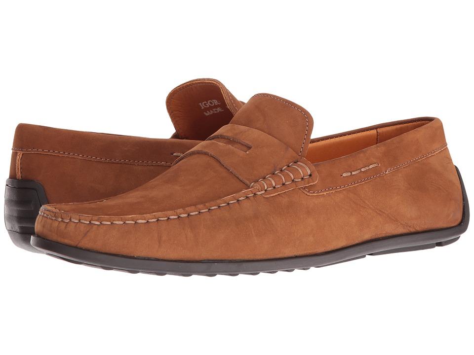 Donald J Pliner - Igor (Tan) Men's Shoes