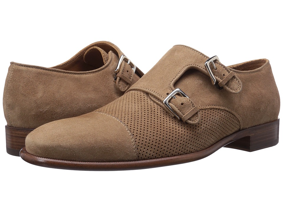 Bruno Magli - Wesley Suede (Tan) Men's Shoes