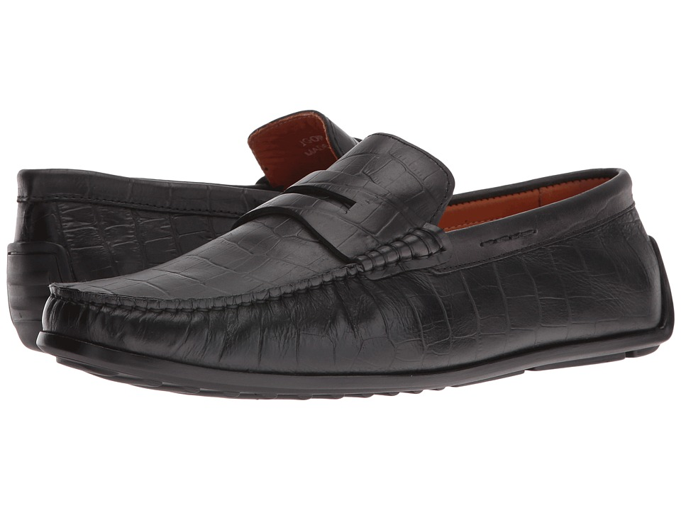 Donald J Pliner - Igor (Black) Men's Shoes