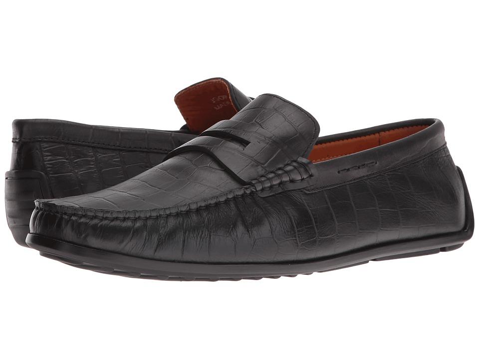 Donald J Pliner - Igor (Black) Men's Shoes