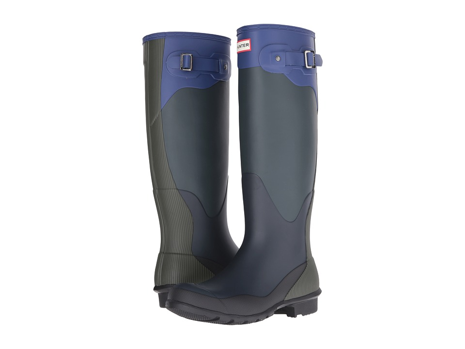 Hunter - Original Tall High Tide (Ocean/Dark Olive/Navy/Deep Cobalt/Black) Women's Boots