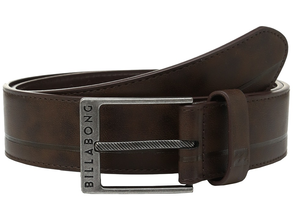 Billabong - Scheme Belt (Chocolate) Men's Belts