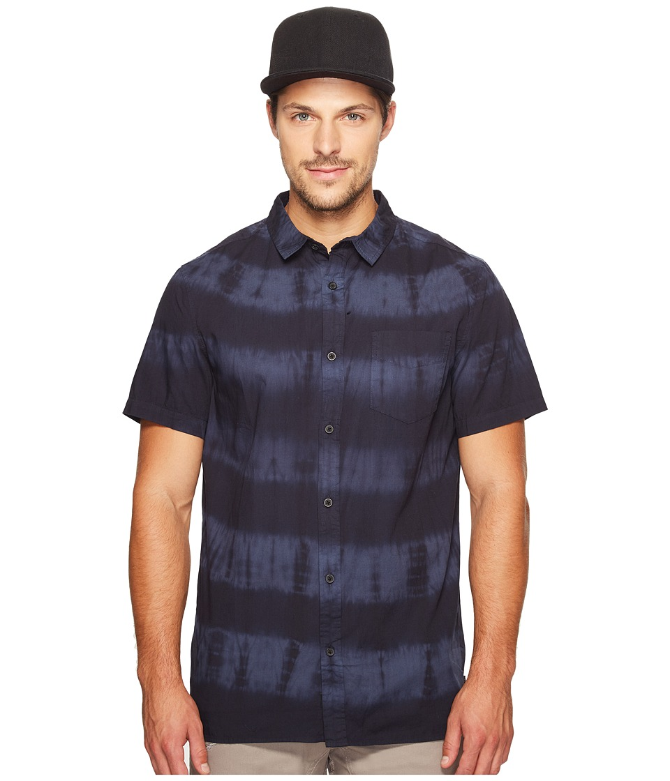 Globe - Atkinson Short Sleeve Shirt (Black) Men's Short Sleeve Button Up