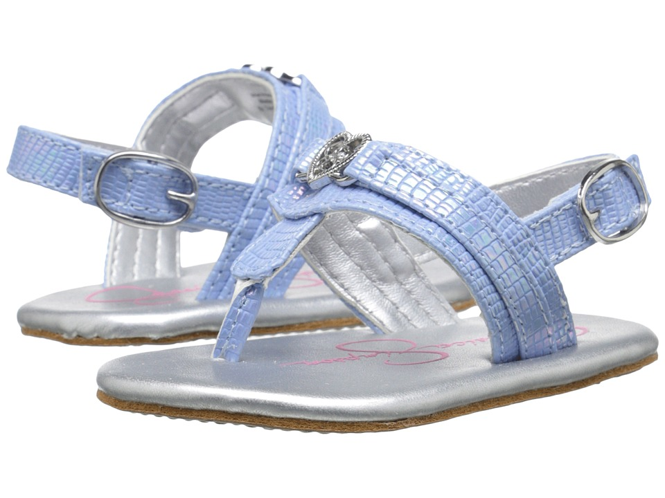Jessica Simpson Kids - Cupid (Infant/Toddler) (Light Blue) Girl's Shoes