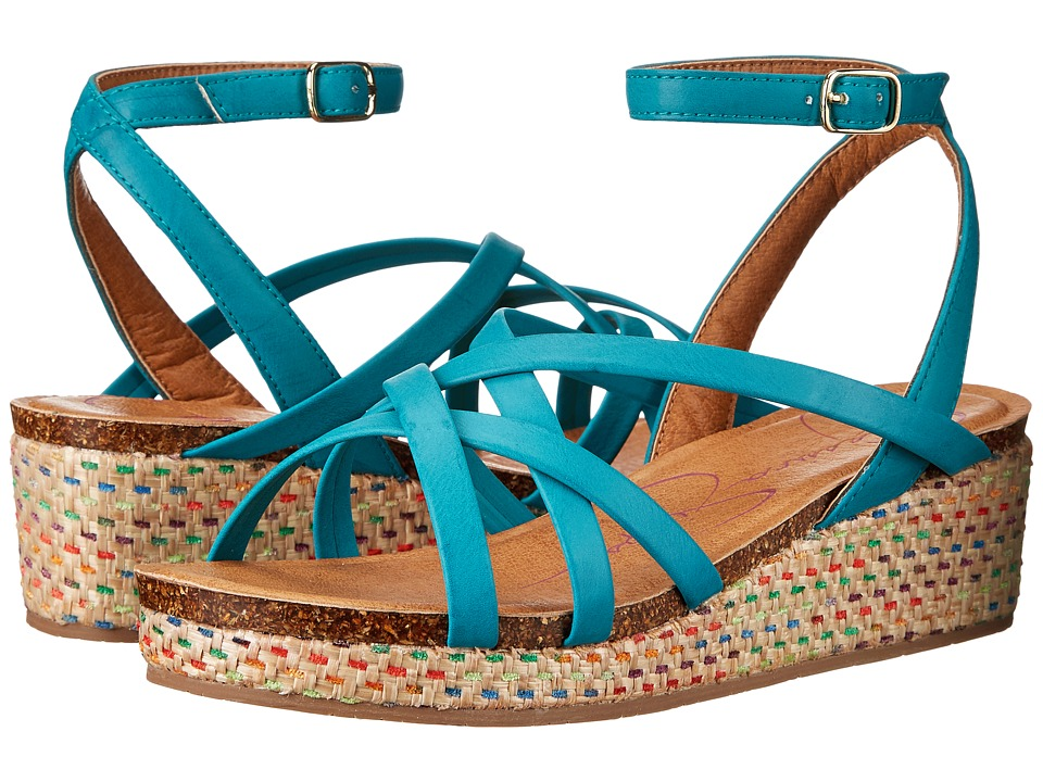 Jessica Simpson Kids - Orleans (Little Kid/Big Kid) (Turquoise) Girl's Shoes