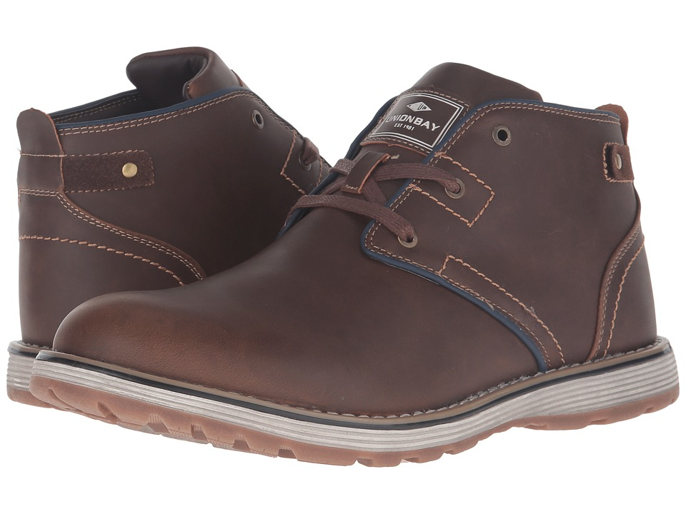 UNIONBAY - Waitsburg Chukka (Brown) Men's Shoes