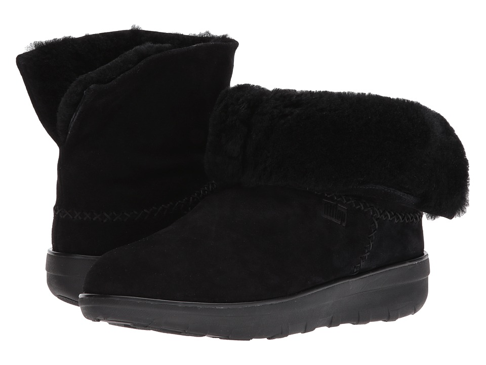 FitFlop - Mukluk Shorty 2 Boot (All Black) Women's Boots