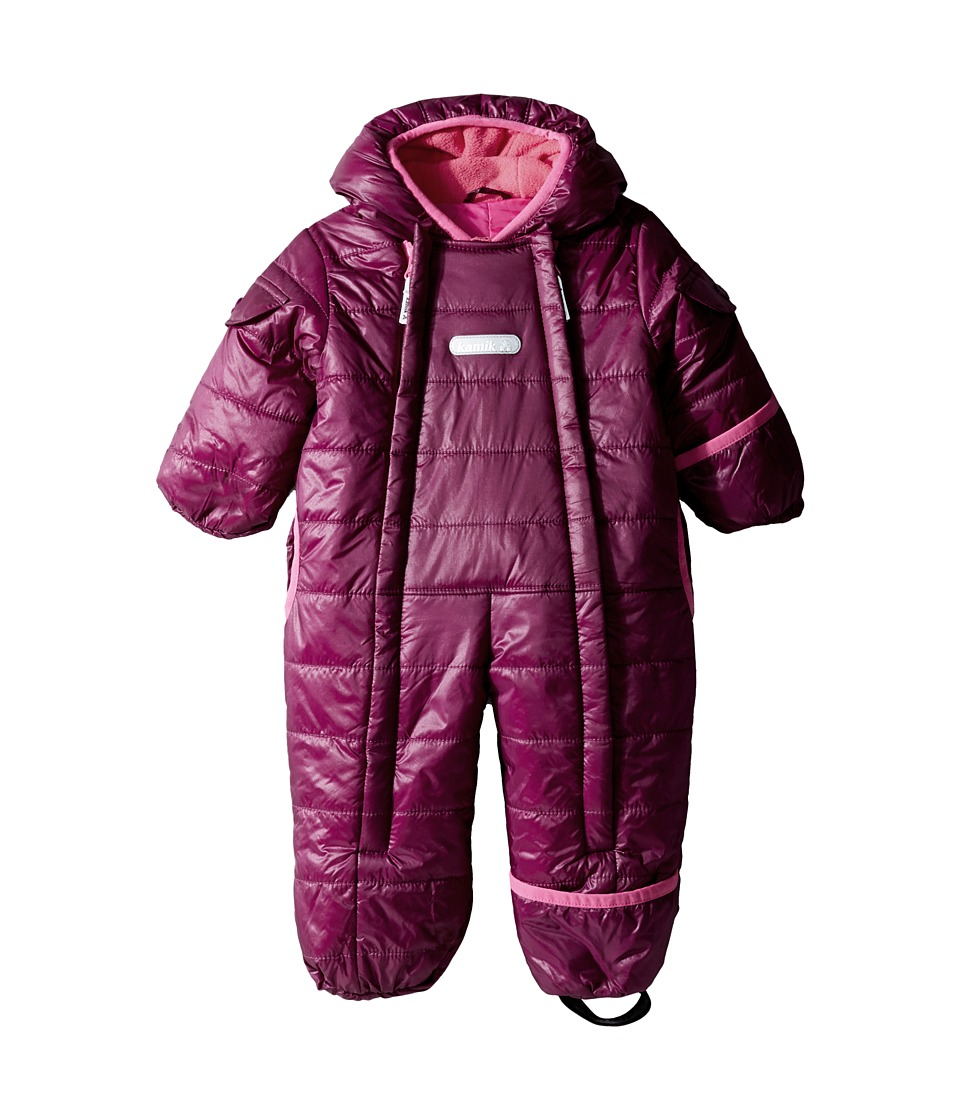 Kamik Kids - Topaz Snowsuit (Infant) (Dark Purple) Kid's Snow Bibs One Piece
