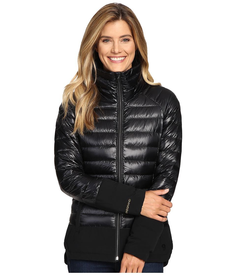 Mountain Hardwear - ZeroGrand Down Jacket (Black) Women's Coat
