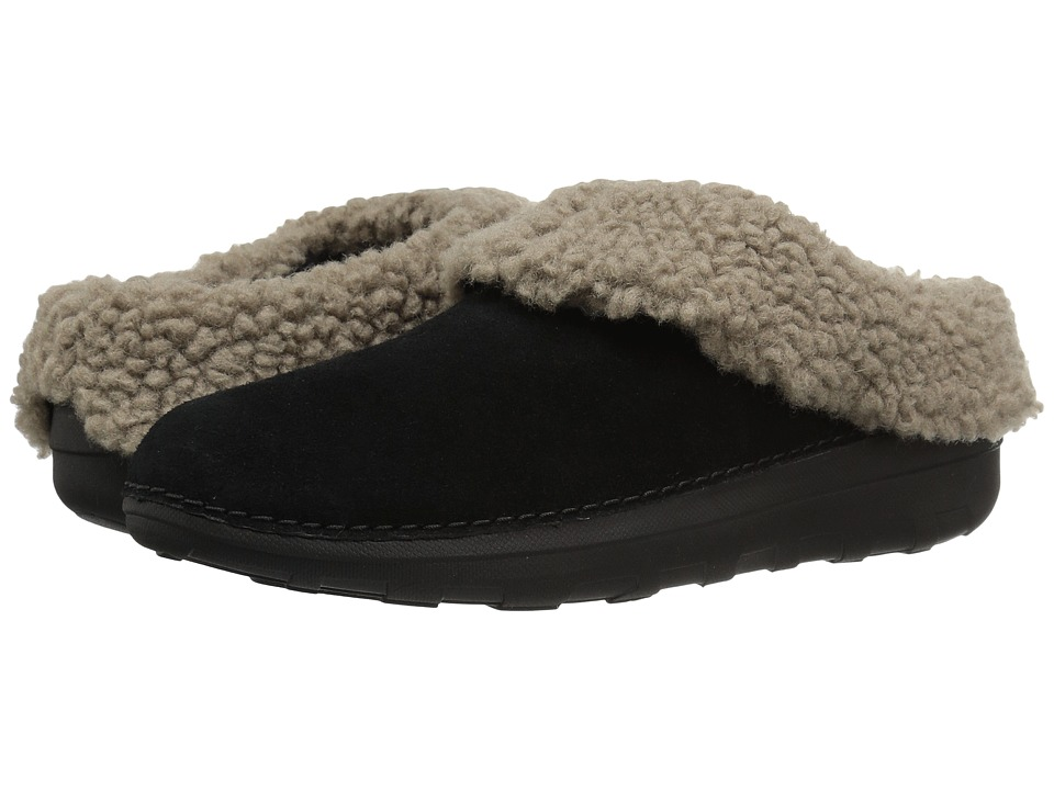 FitFlop Loaff Snug Slipper (Black) Women