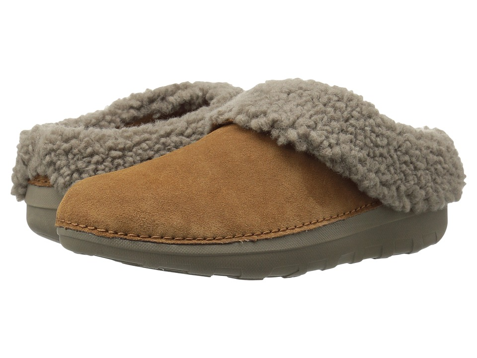 FitFlop - Loaff Snug Slipper (Chestnut) Women's Slippers