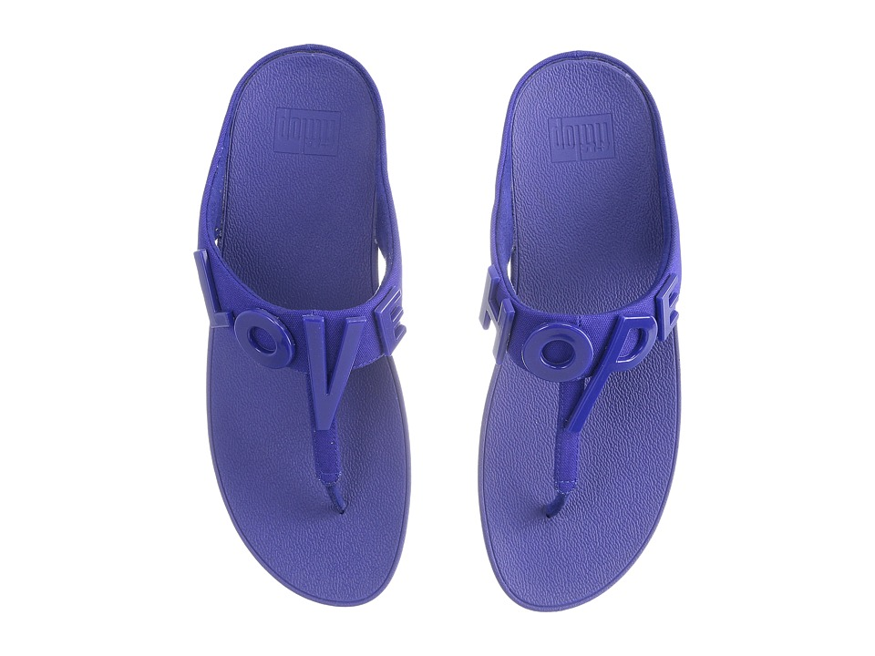 FitFlop - Love Hope Sandal (Royal Blue) Women's Shoes