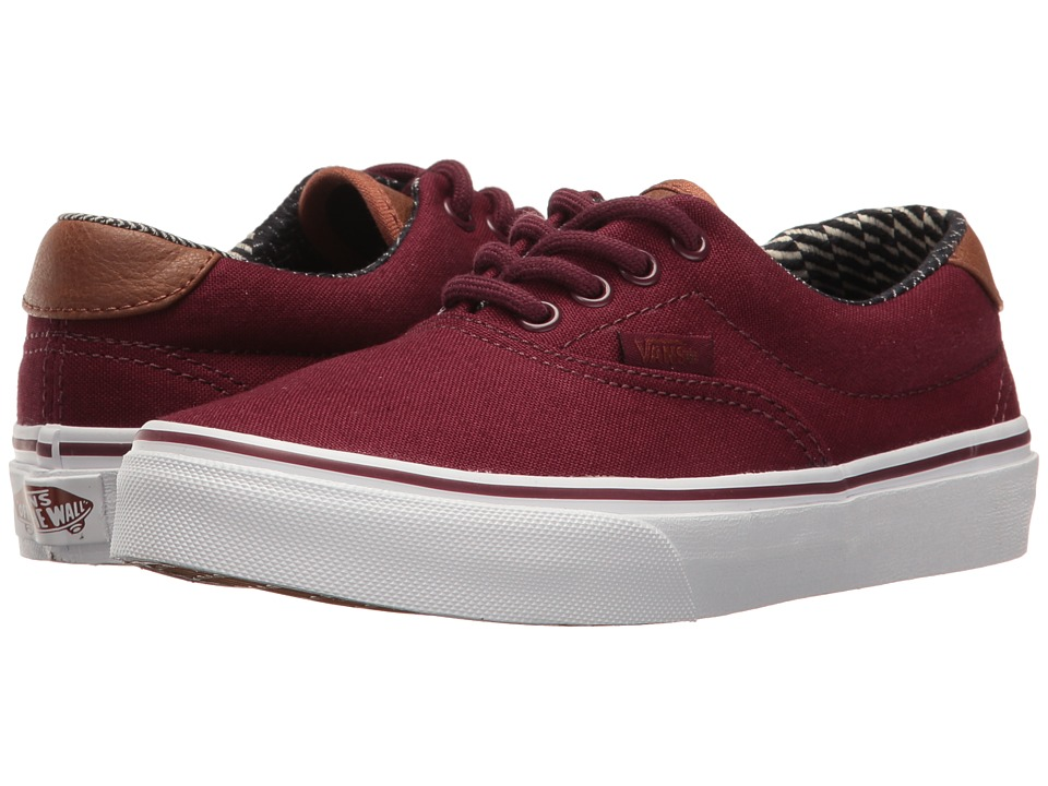 Vans Kids - Era 59 (Little Kid/Big Kid) ((C&L) Port Royale/Material Mix) Boys Shoes