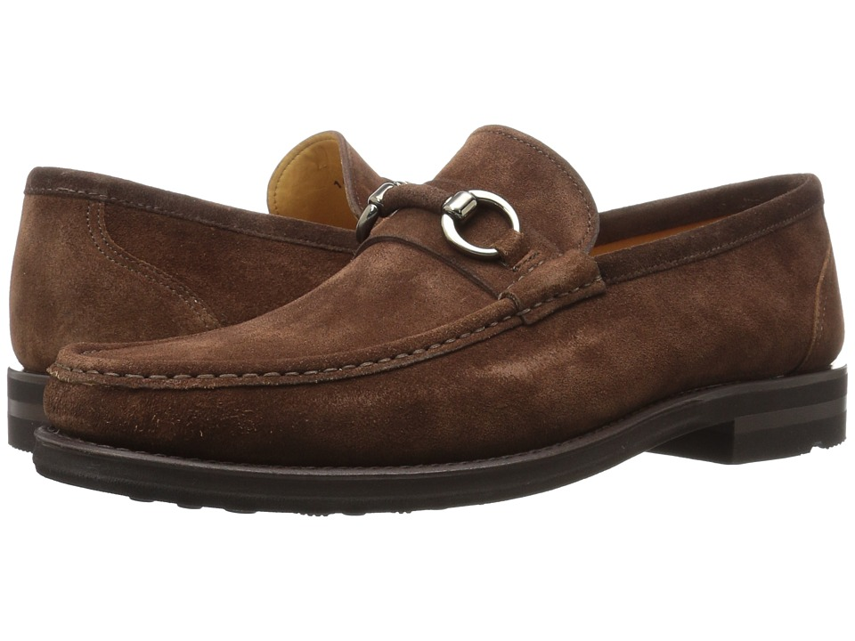 Magnanni - Mastoro (Mid Brown Suede) Men's Shoes