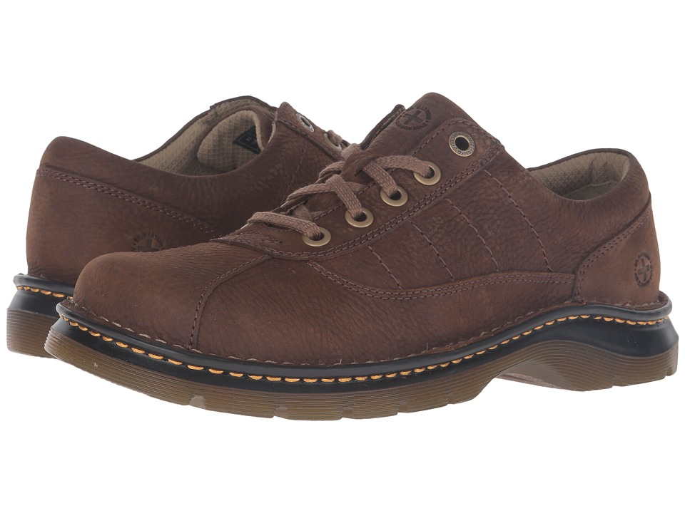 Dr. Martens - John (Dark Taupe) Men's Lace up casual Shoes
