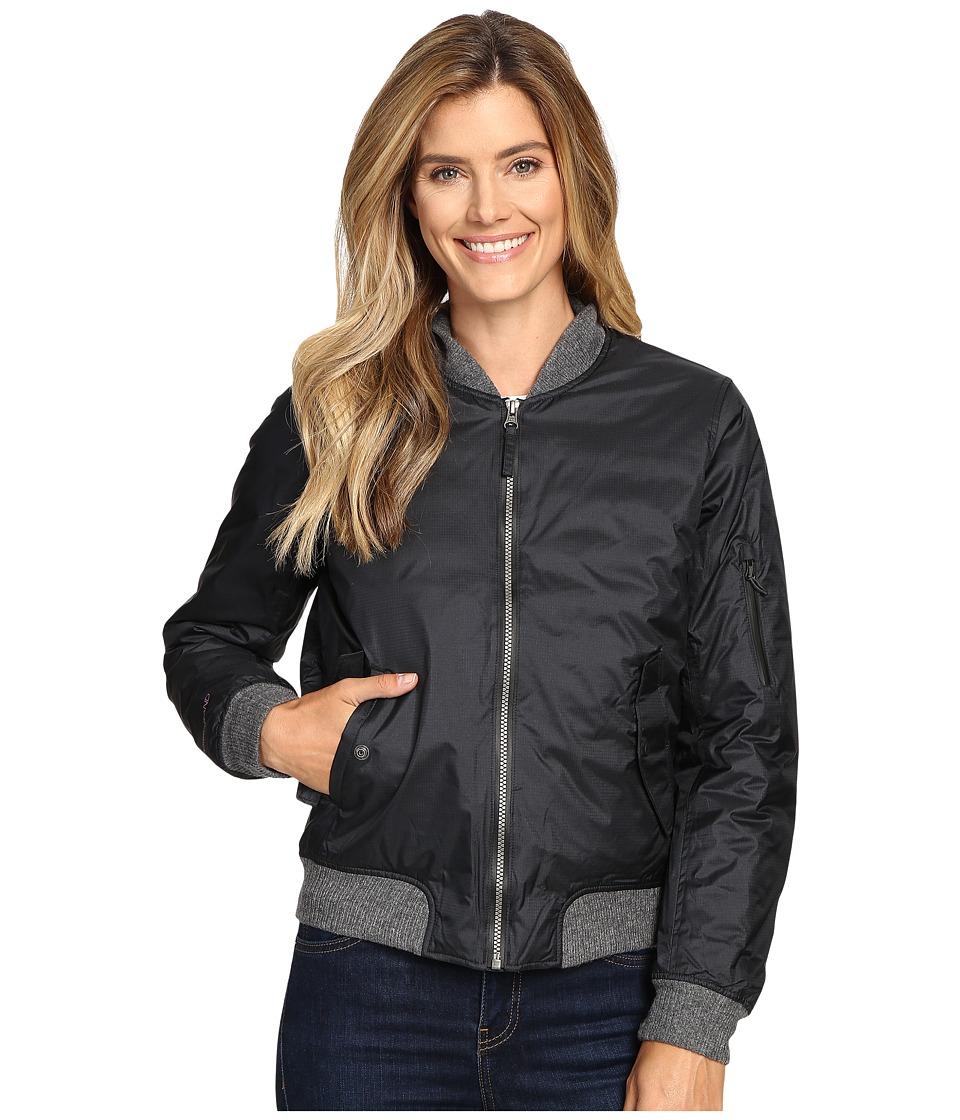 Mountain Hardwear - StudioGrand Bomber Jacket (Black) Women's Coat
