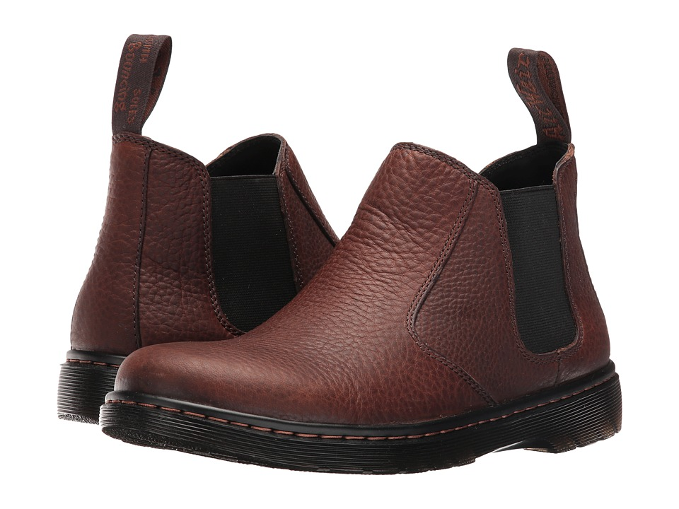 Dr. Martens - Conrad (Dark Brown) Men's Shoes