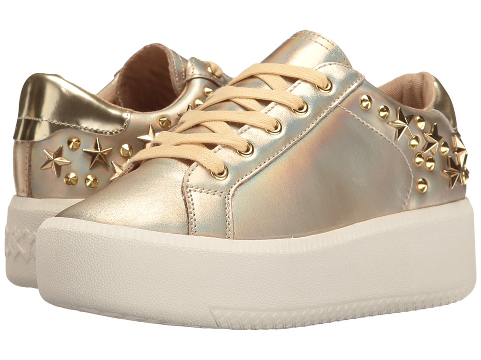 ASH Kids - Creeper Sneaker (Little Kid/Big Kid) (Gold Metallic) Girl's Shoes