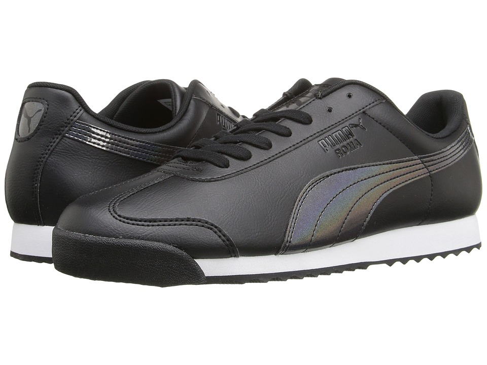 PUMA - Roma TL Iridescent (Black) Men's Shoes
