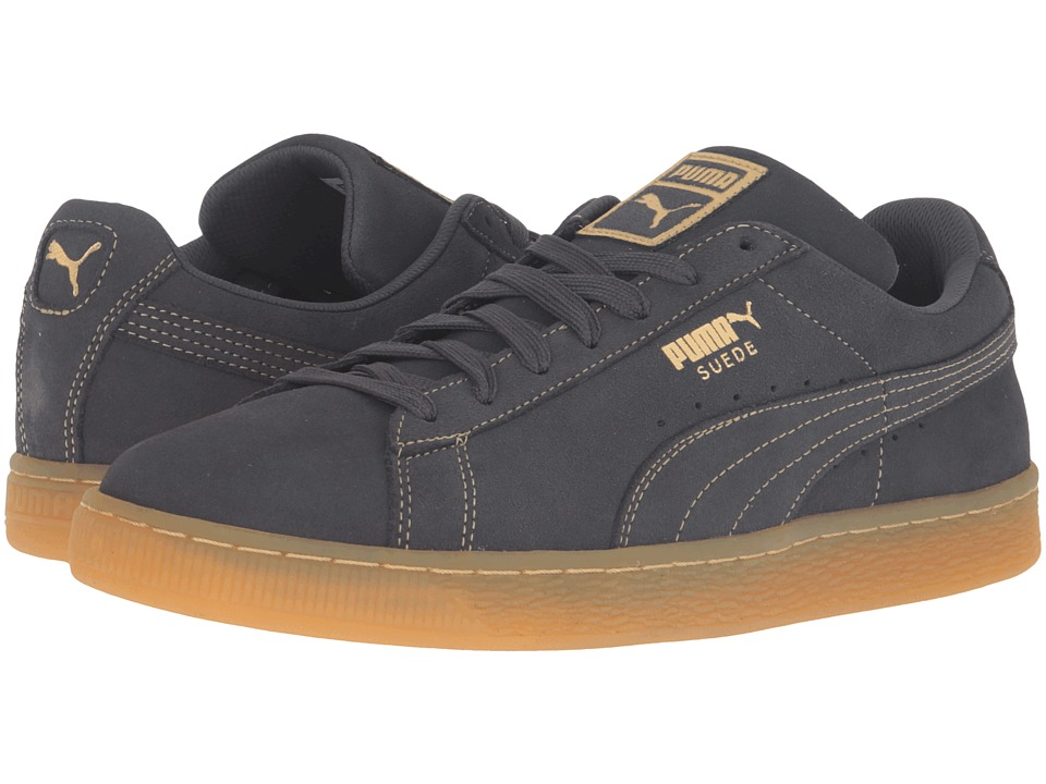 PUMA - Suede Classic GF (Dark Shadow/Metallic Gold) Men