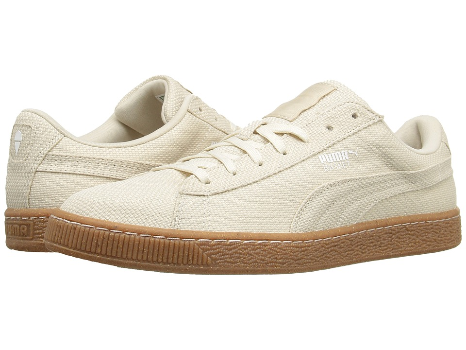 PUMA - Basket Ripstop IC (White Swan/White) Men's Shoes
