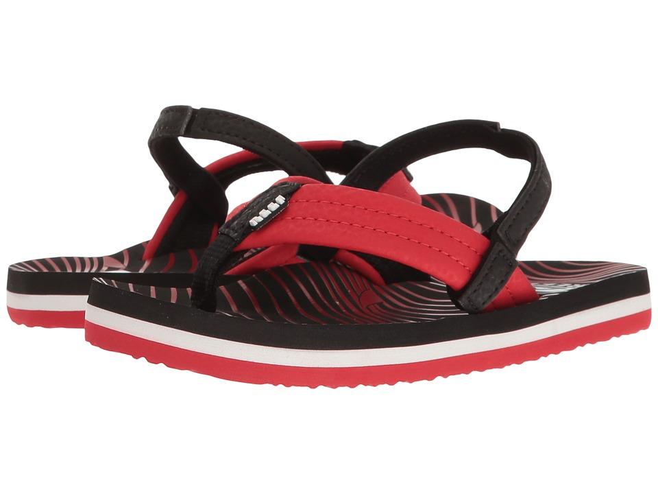 Reef Kids Ahi (Infant/Toddler/Little Kid/Big Kid) (Red Shark) Boys Shoes