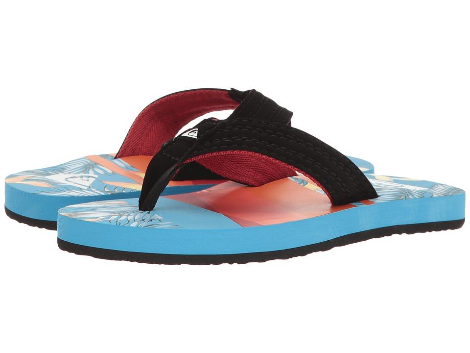 Quiksilver Kids - Basis (Toddler/Little Kid/Big Kid) (Black/Red/Blue) Boys Shoes