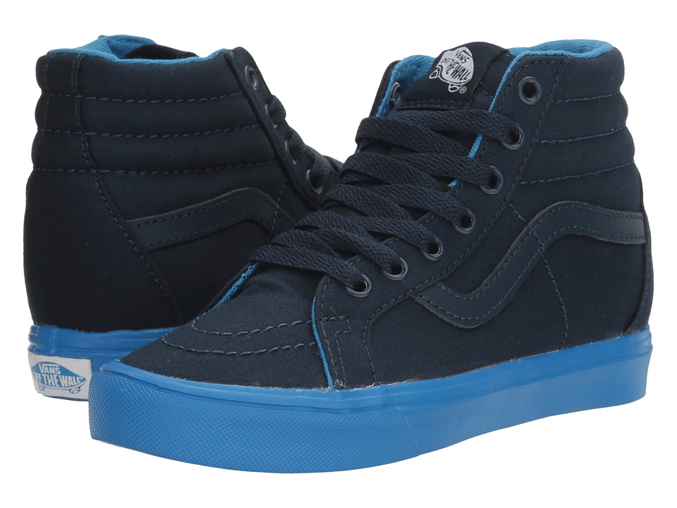Vans Kids - Sk8-Hi Reissue Lite (Little Kid/Big Kid) ((Sole Dip) Dress Blues/French Blue) Boys Shoes