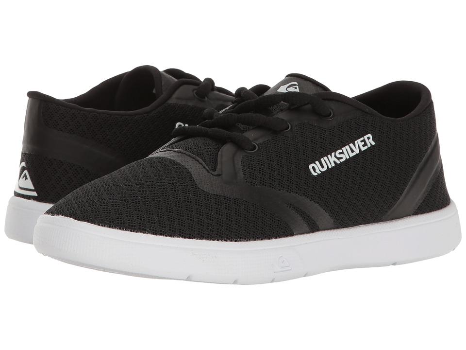 Quiksilver Kids Oceanside (Toddler/Little Kid/Big Kid) (Black/Black/White) Boys Shoes