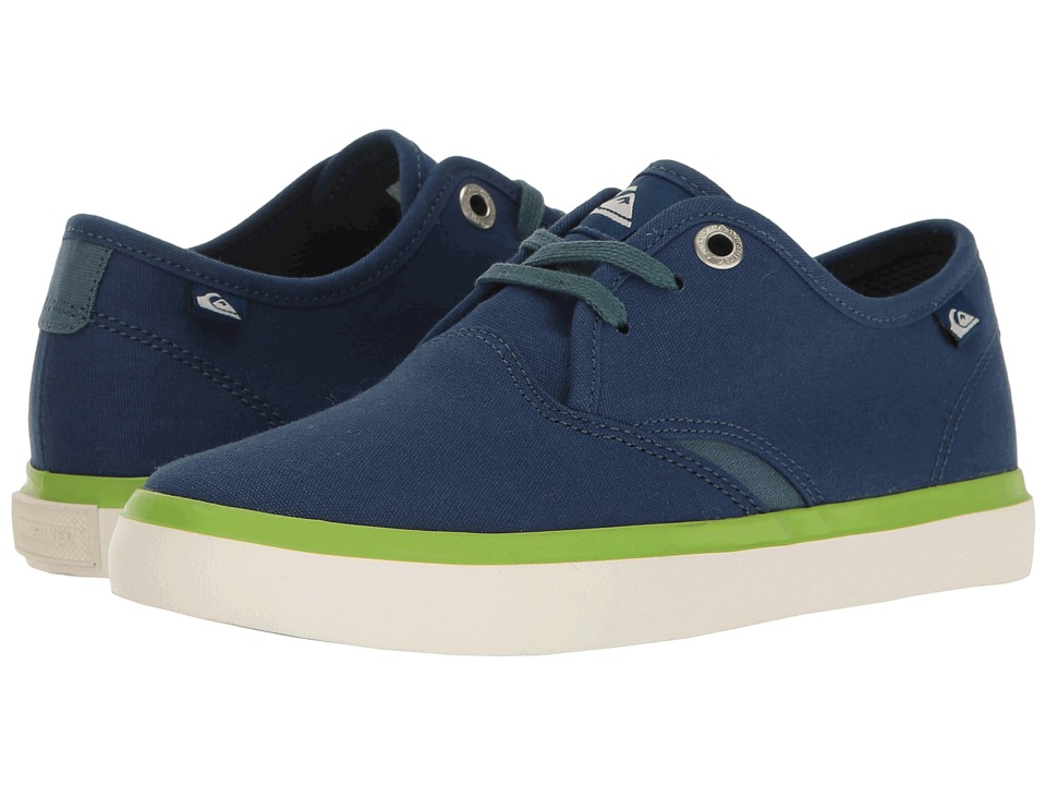 Quiksilver Kids - Shorebreak (Toddler/Little Kid/Big Kid) (Blue/White/Green) Boys Shoes