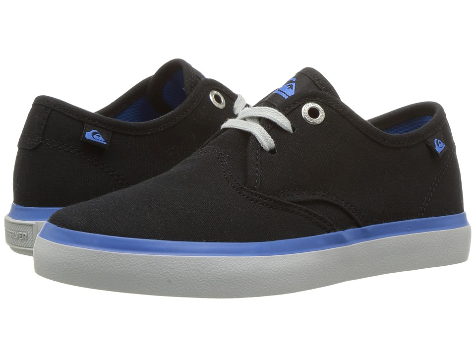 Quiksilver Kids - Shorebreak (Toddler/Little Kid/Big Kid) (Black/Blue/Grey) Boys Shoes