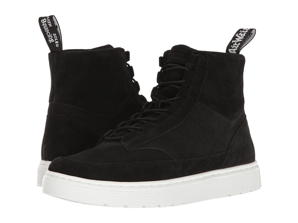 Dr. Martens Kamar (Black Hi Suede WP Perfed) Men