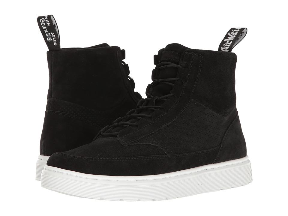 Dr. Martens - Kamar (Black Hi Suede WP Perfed) Men's Boots
