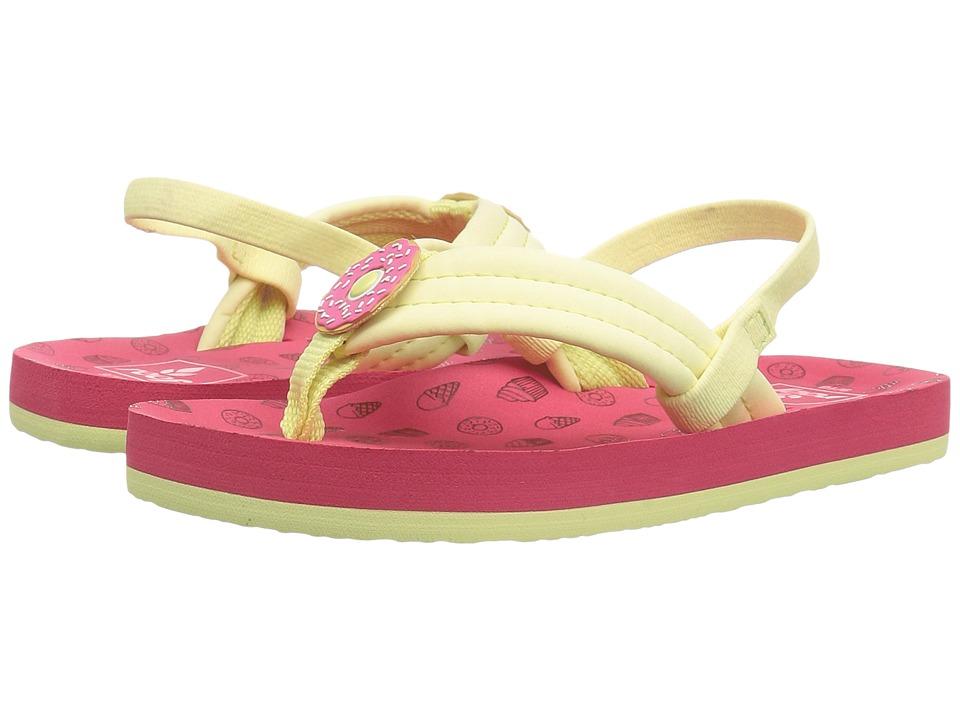 Reef Kids Little Ahi Scents (Infant/Toddler/Little Kid/Big Kid) (Donuts) Girls Shoes