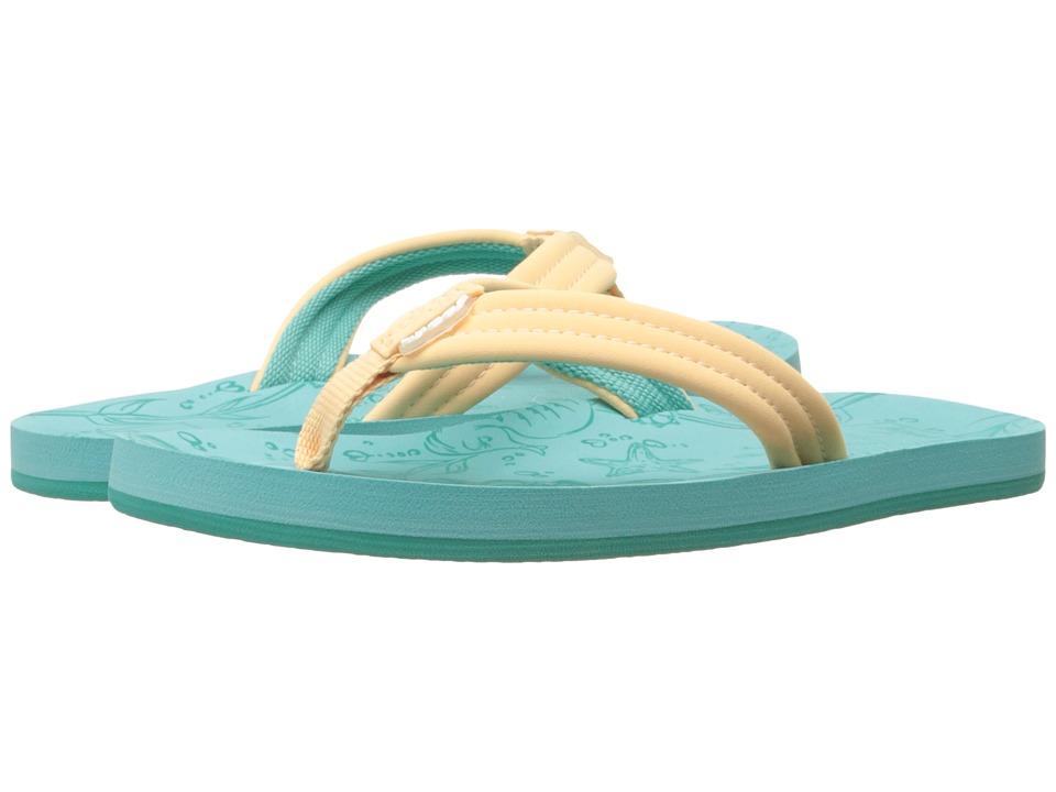 Reef Kids - Little Reef Footprints (Infant/Toddler/Little Kid/Big Kid) (Creamsicle) Girls Shoes