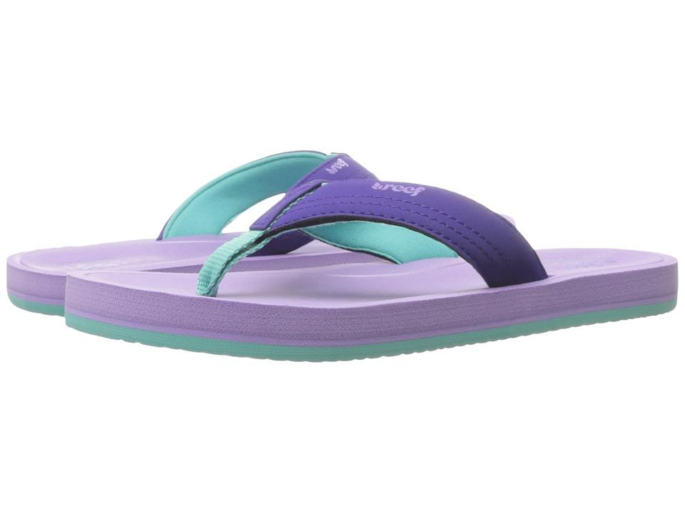 Reef Kids Little Splash (Infant/Toddler/Little Kid/Big Kid) (Lavender) Girls Shoes