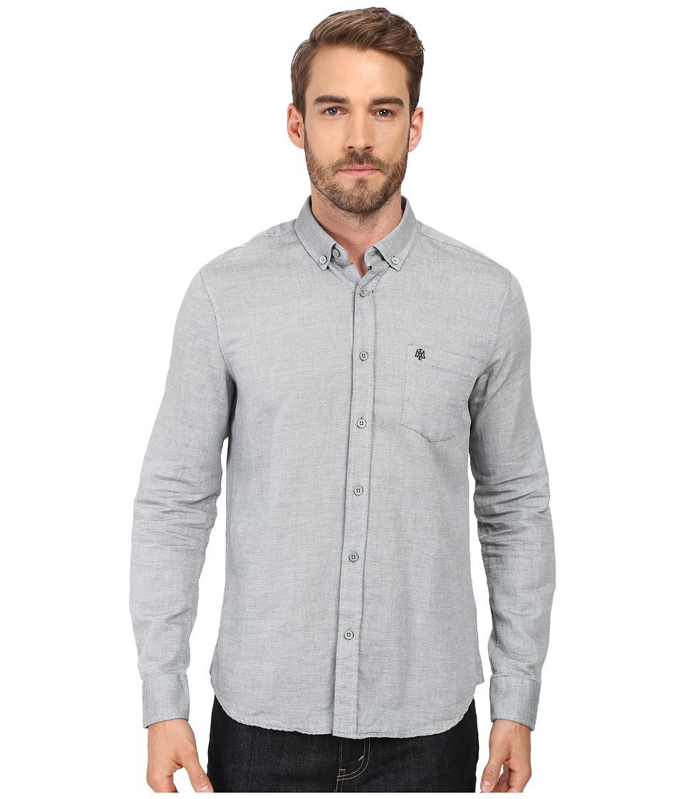 Mavi Jeans - Button Pocket Shirt (Jungle Green) Men's Long Sleeve Button Up