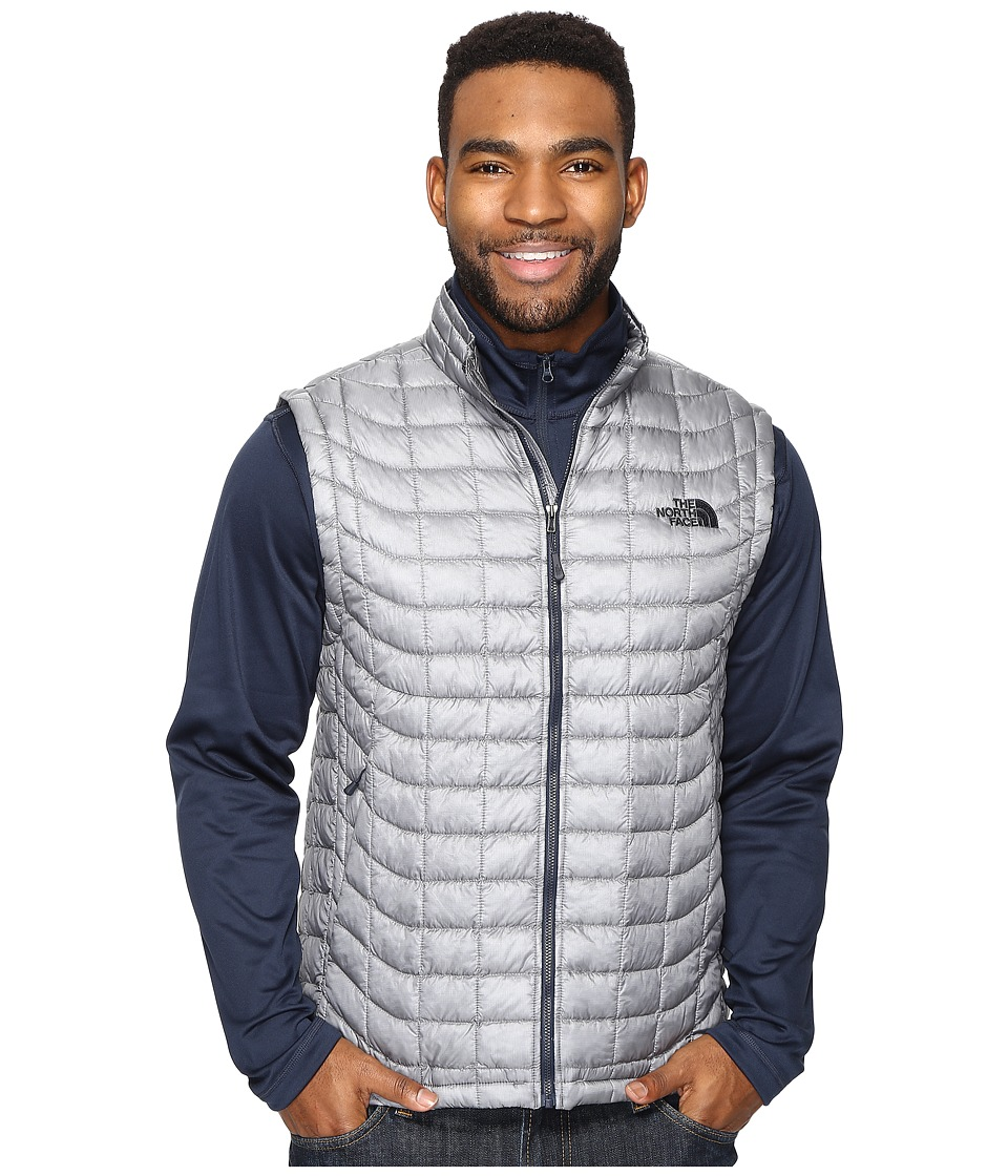The North Face - ThermoBalltm Vest (Mid Grey/Urban Navy (Prior Season)) Men's Vest