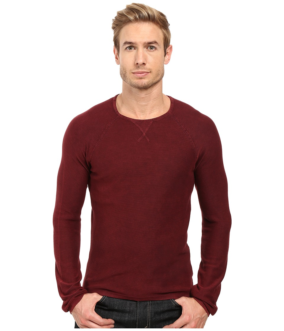 Mavi Jeans - Sweater (Oxblood Red) Men's Sweater