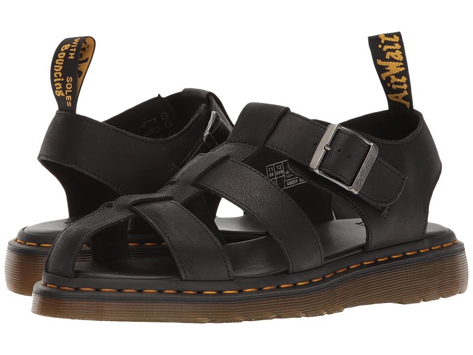 Dr. Martens - Galia (Black Carpathian) Men's Sandals