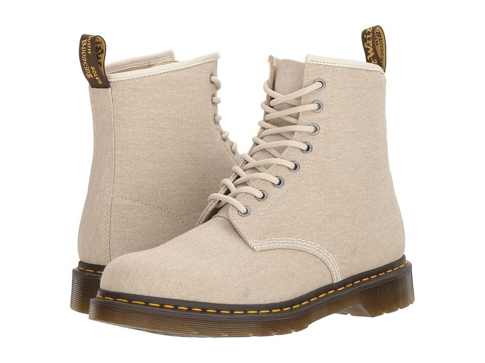 Dr. Martens - 1460 (Bone Washed Canvas) Men's Boots