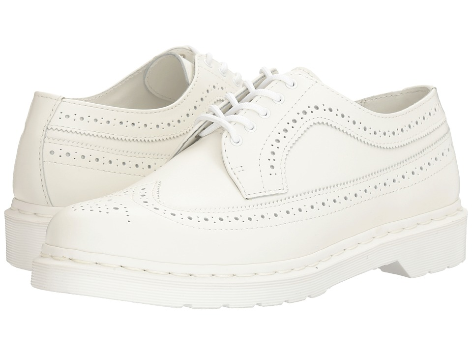Dr. Martens - 3989 (White Smooth) Lace up casual Shoes