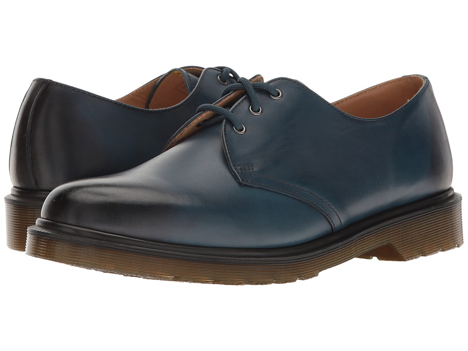 Dr. Martens - 1461 (Sea Blue Antique Temperley) Industrial Shoes