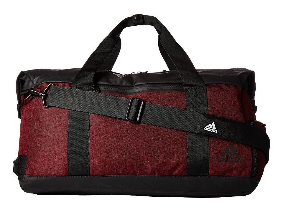 adidas - Sport ID Duffel (Collegiate Burgundy/Black) Duffel Bags