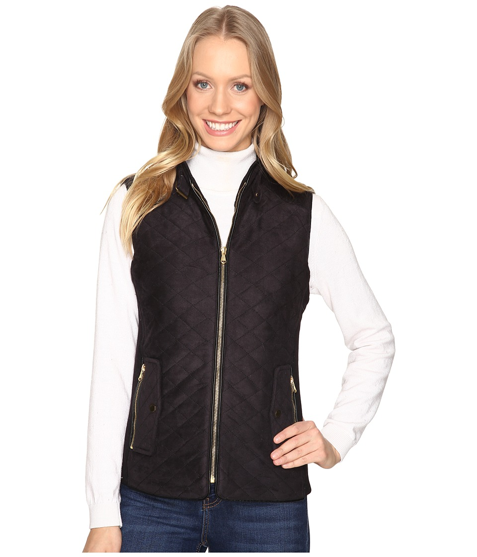 Fate - Quilted Vest (Black) Women's Vest