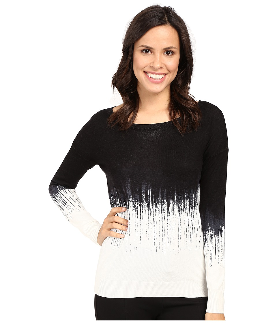 Fate - Ombre Knit (Black) Women's Clothing