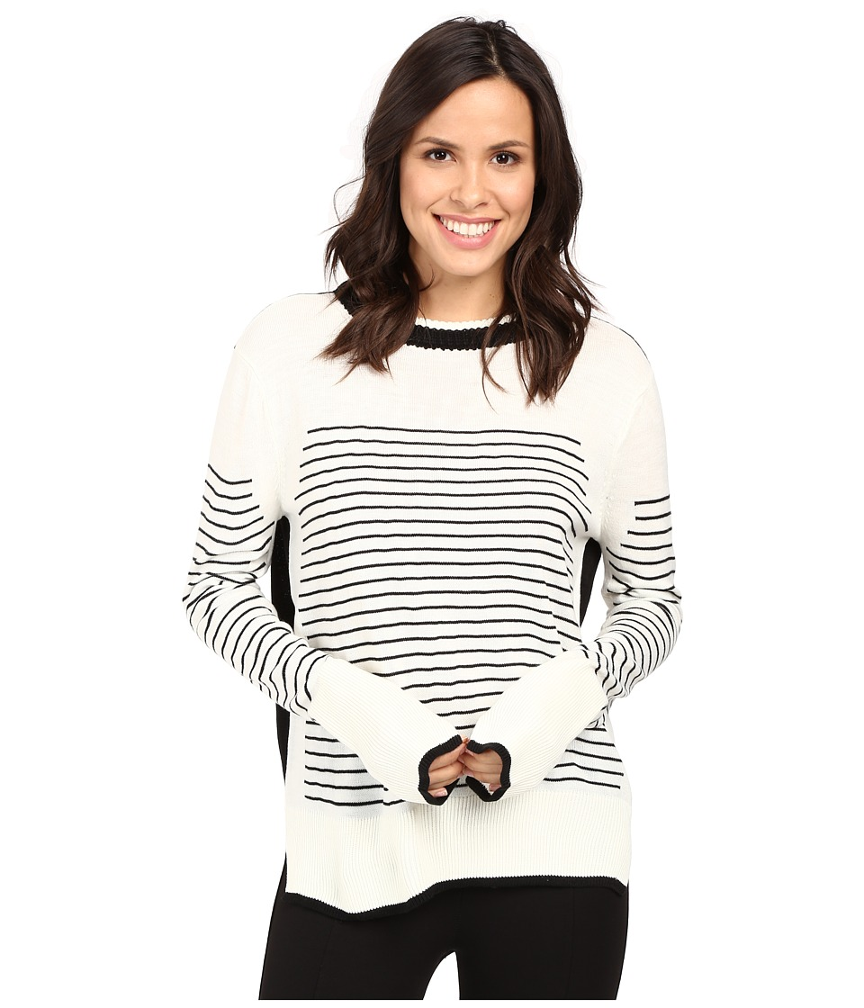 Fate - Stripe Knit (Cream/Black) Women's Clothing