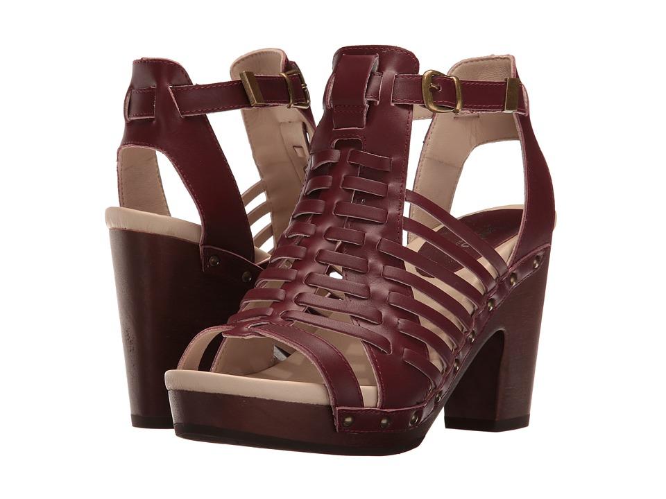 Jambu - Valentina (Wine) High Heels