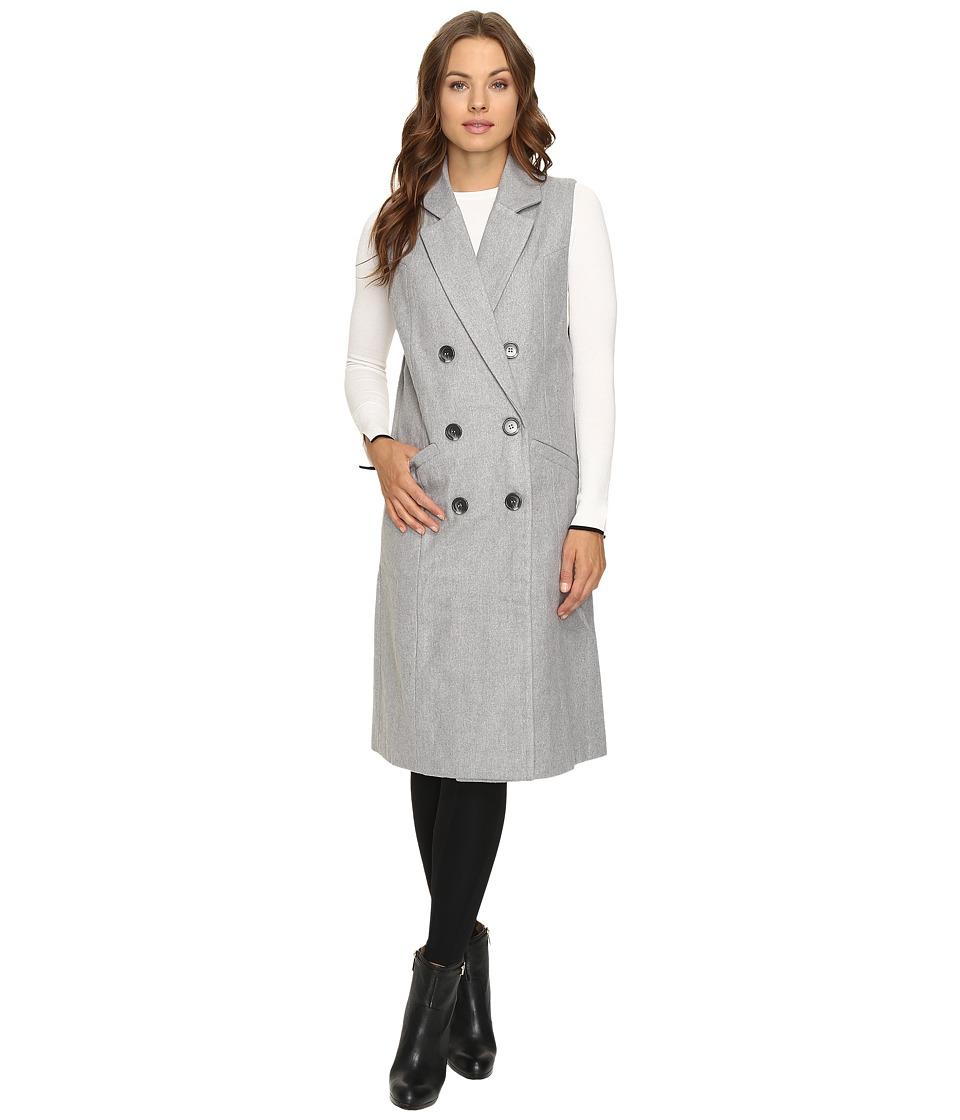 Fate - Long Vest (Grey) Women's Vest