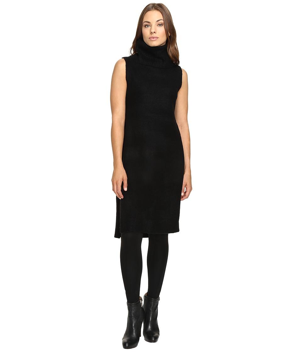 Fate - Sleeveless Cowl Open Side (Black) Women's Clothing